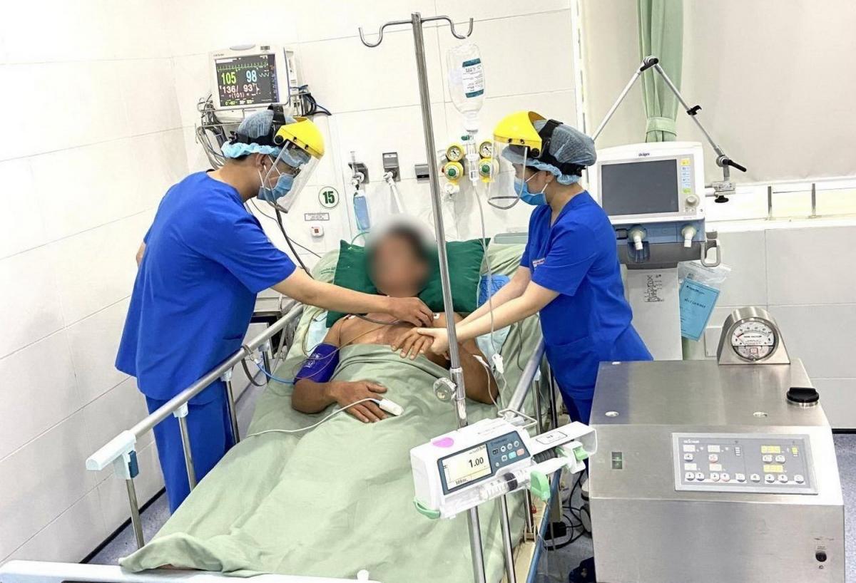 Bệnh nhân được chẩn đoán cấp cứu kịp thời, bệnh nhân đã qua cơn nguy kịch.
