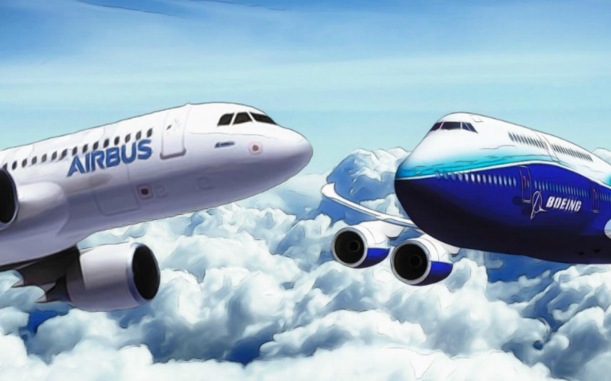 Mỹ và EU tìm được giải pháp cho xung đột lợi ích giữa 2 tập đoàn hàng không lớn nhất thế giới là Boeing và Airbus. (Ảnh: KT)