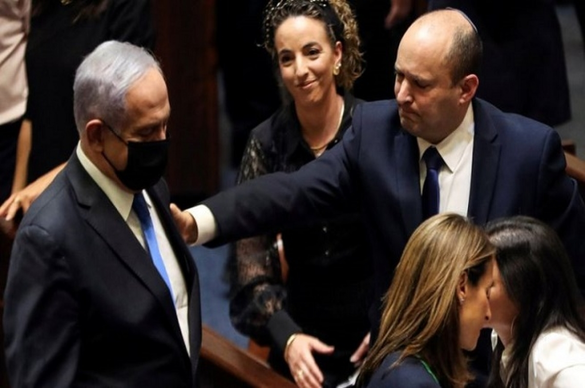 Chính phủ mới của Israel với các thách thức lớn. Ảnh: Ahram