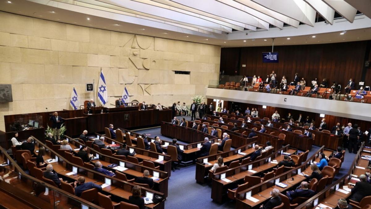 Một phiên họp của Quốc hội Israel. Ảnh: RT