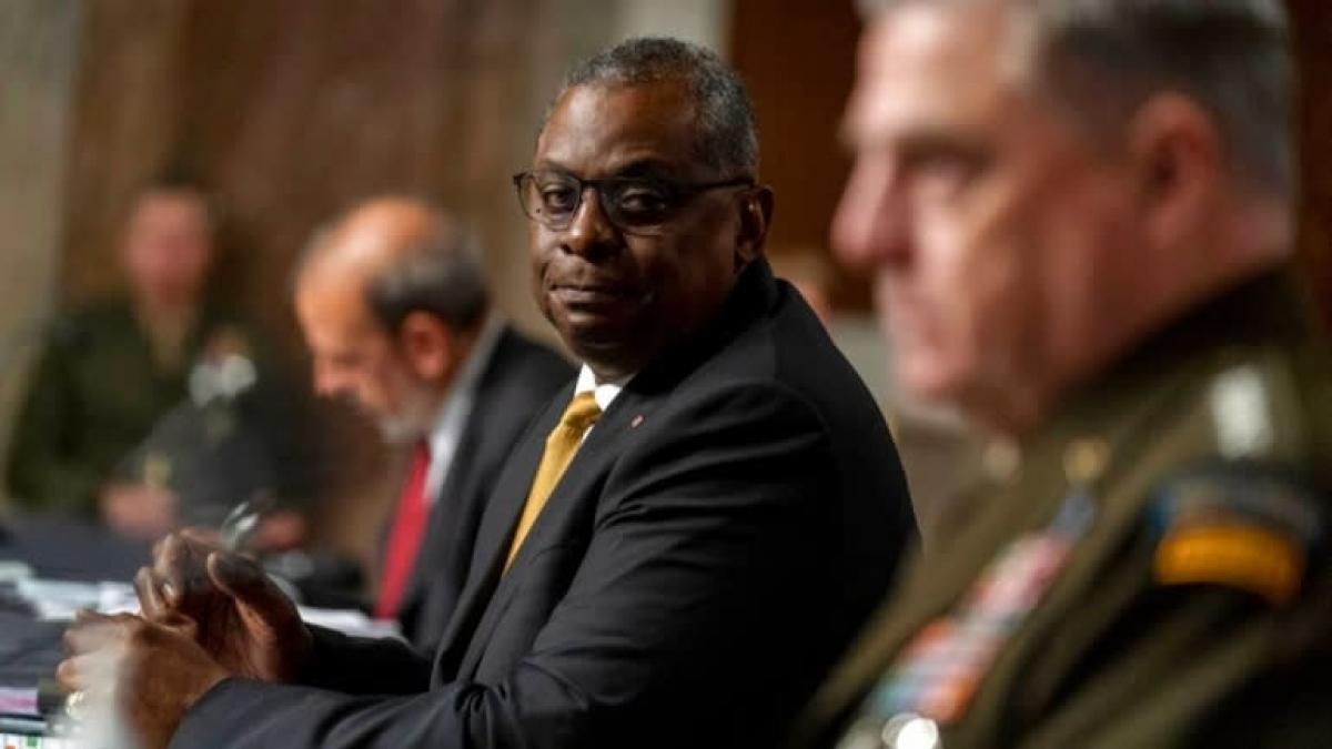 Bộ trưởng Quốc phòng Lloyd Austin. Ảnh: AP