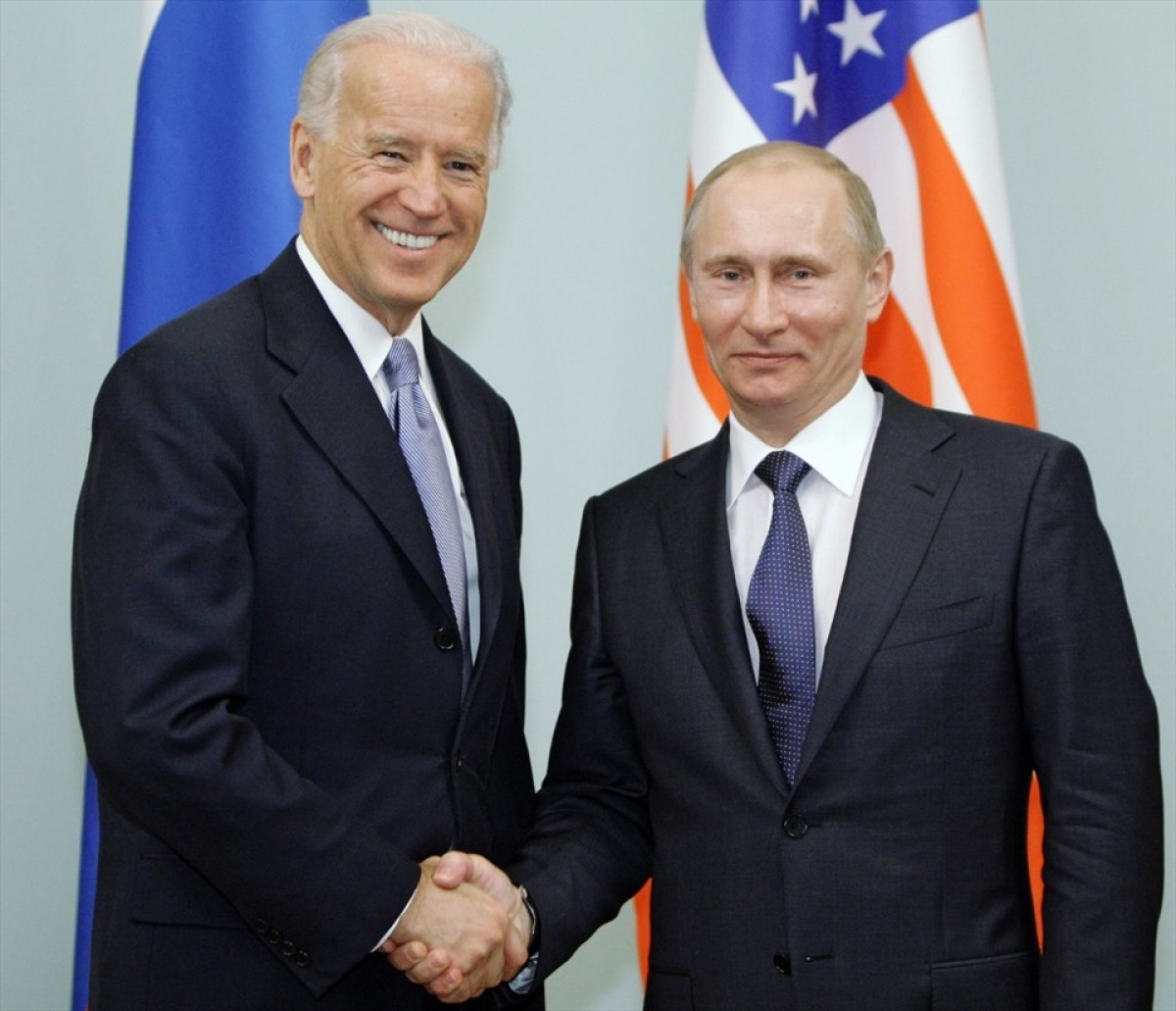Tổng thống Mỹ Joe Biden vàTổng thống Nga Vladimir Putin.Ảnh: AFP