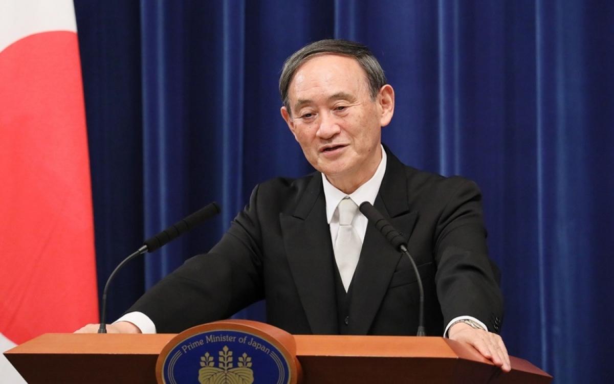 Thủ tướng Nhật Bản Suga. Ảnh: EIAS.