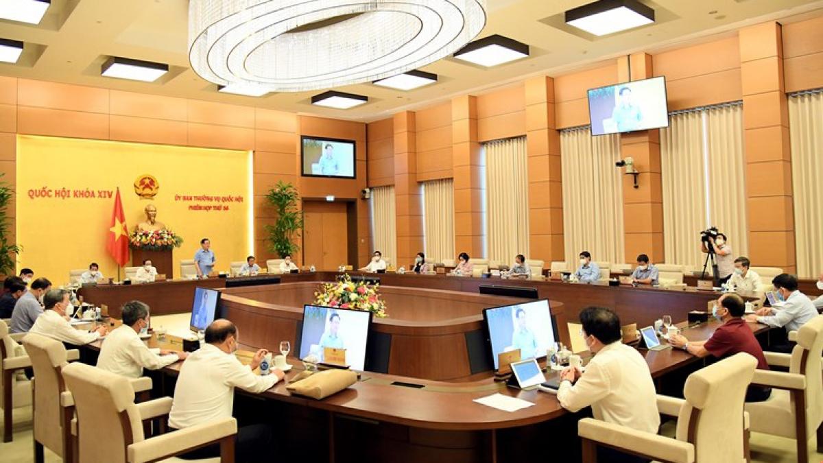 Ủy ban Thường vụ Quốc hội sẽ thảo luận nhiều nội dung quan trọng tại phiên họp thứ 57