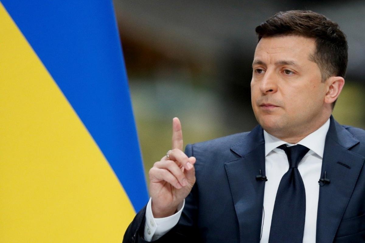 Tổng thống Ukraine Zelensky. Ảnh: Reuters