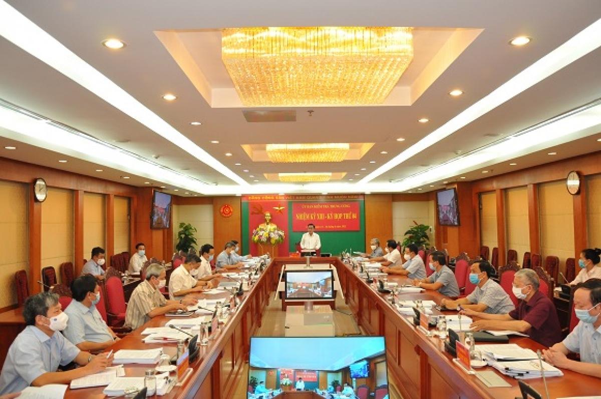 Kỳ họp thứ 4 Ủy ban Kiểm tra Trung ương