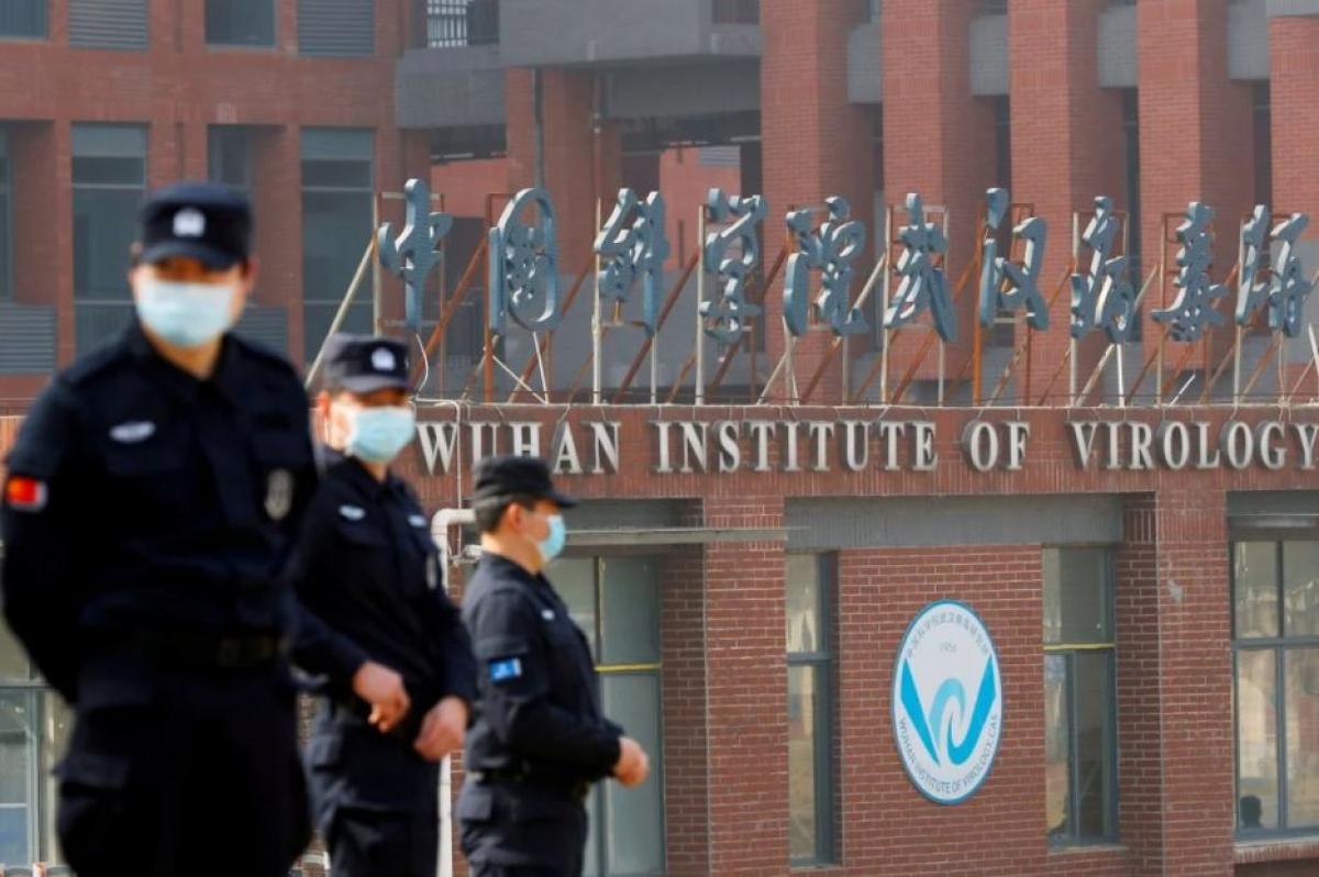 Viện Virus học Vũ Hán ở Trung Quốc. Ảnh: Reuters