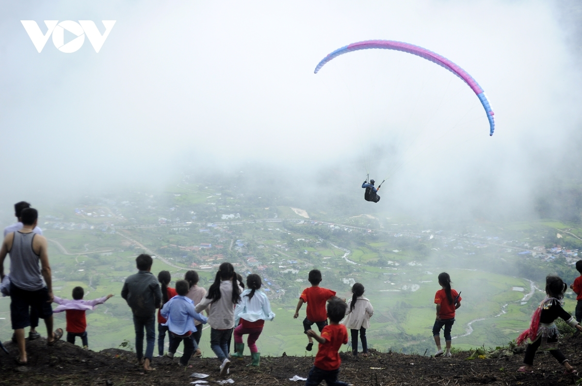 A paragliding tourney will be held duringLai Chau culture and tourism week.