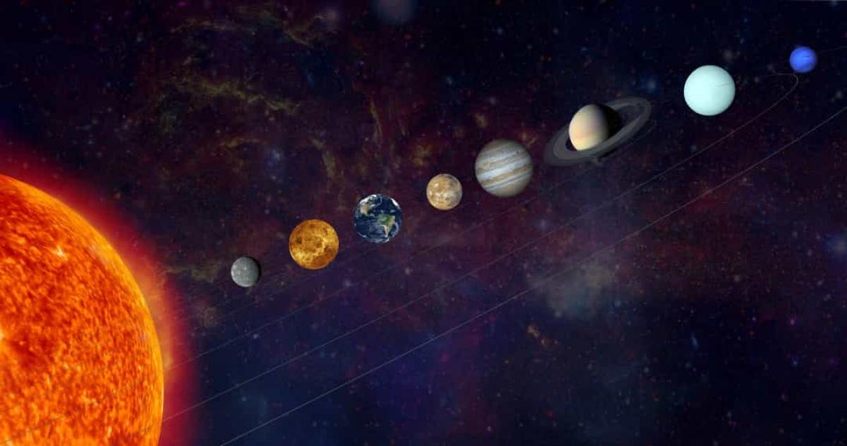 Khoảng cách từ sao Hải Vương tới Mặt Trời là hơn 45 tỷ km.