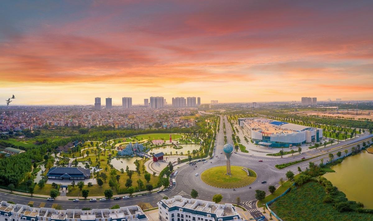 The Metrolines tọa lạc tại tâm điểm kết nối của Vinhomes Smart City - đại đô thị lớn nhất phía Tây Hà Nội