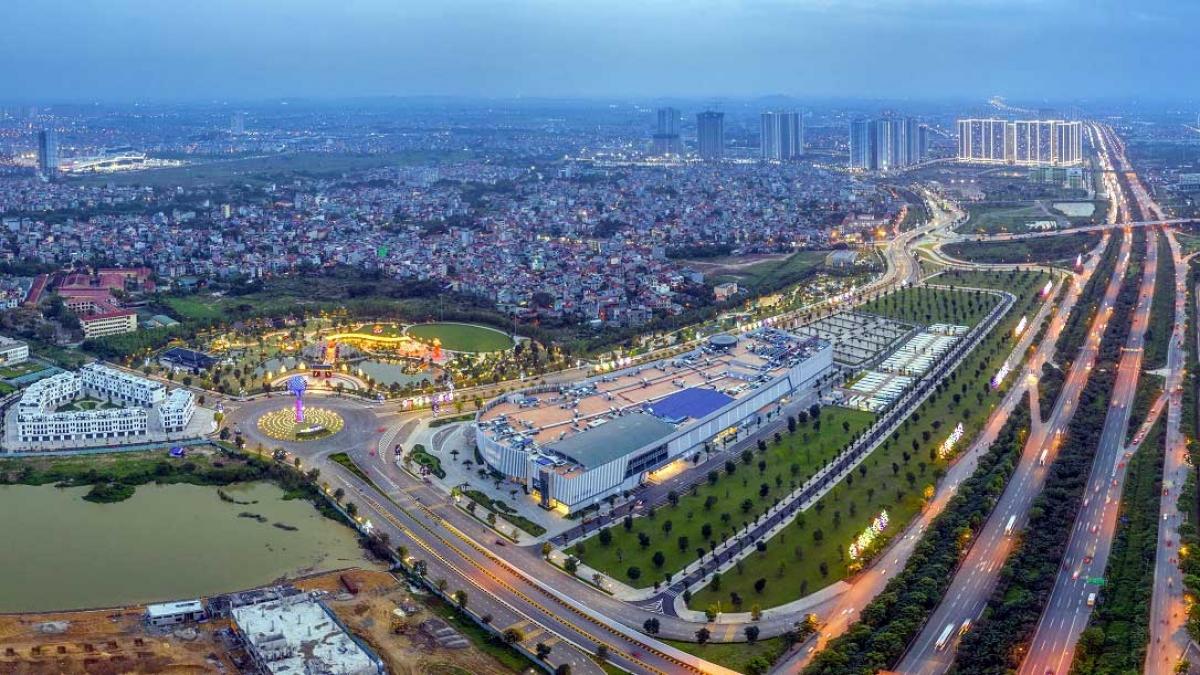 The Metrolines tọa lạc giữa tam giác vàng của Vinhomes Smart City - đại đô thị đẳng cấp bậc nhất phía Tây Thủ đô.