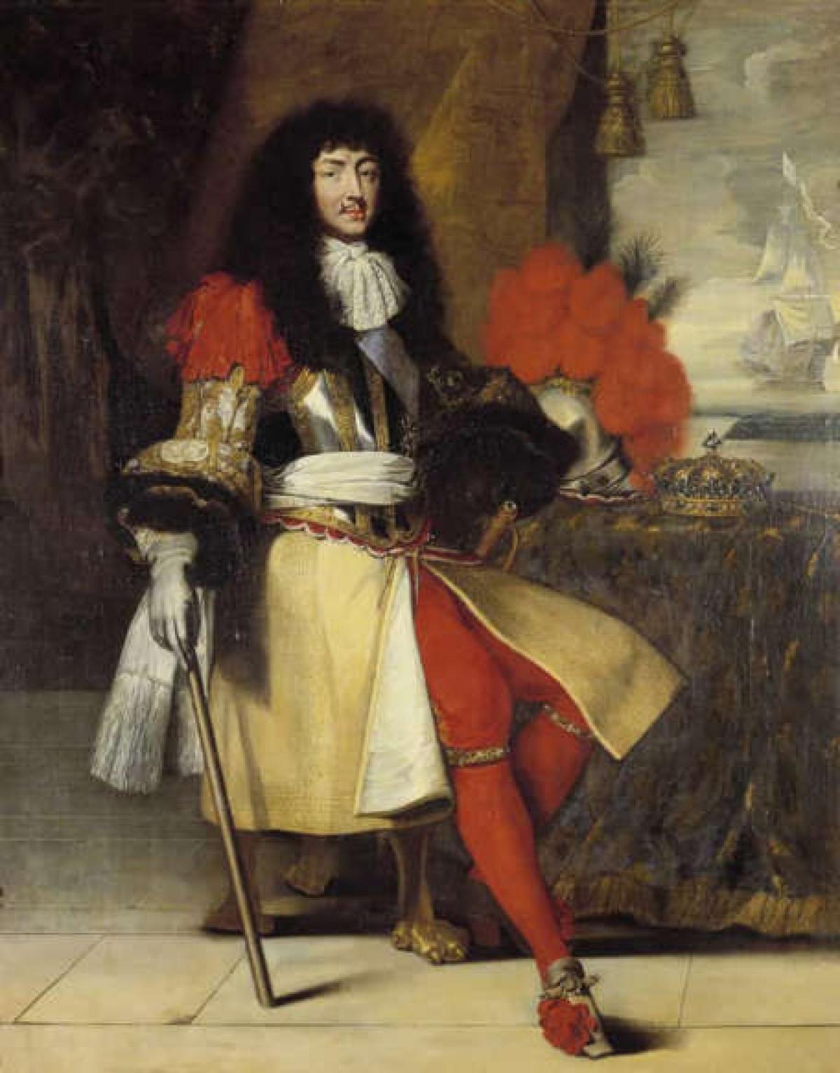 Vua Louis XIV.Vua Louis XIV của nước Pháp trị vì 72 năm, ông là vị vua tại vị lâu nhất trong lịch sử nước Pháp và lịch sử châu Âu./.