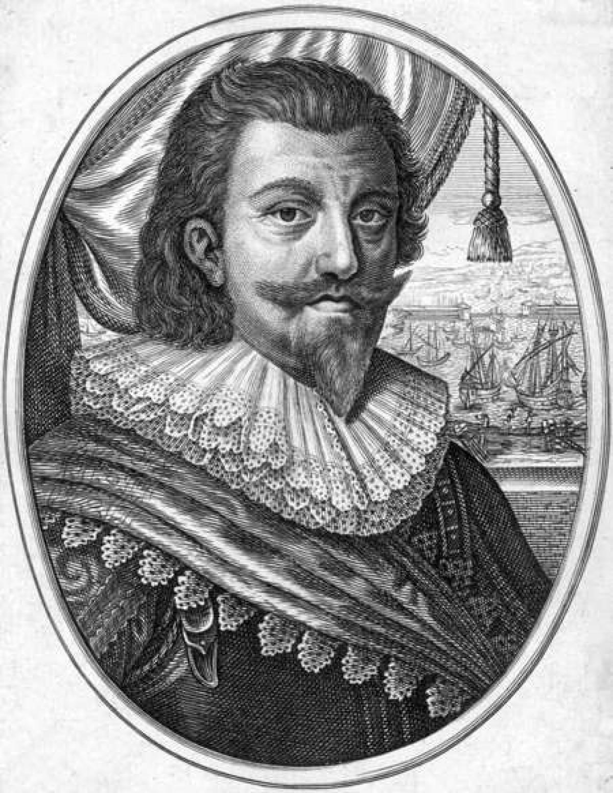 Vua Christian IV của Đan Mạch.Christian IV là vua Đan Mạch – Na Uy và Công tước Holstein và Schleswig từ năm 1588 đến năm 1648. Thời kỳ ông trị vì kéo dài 59 năm.