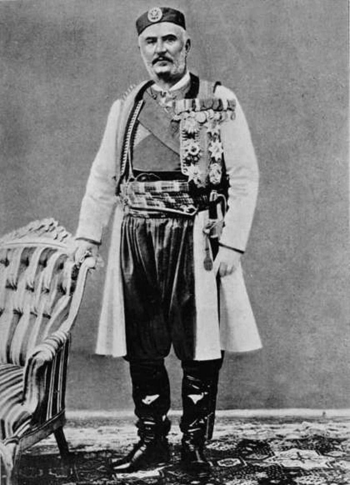 Vua Nicholas I cai trị Montenegro trong 58 năm.