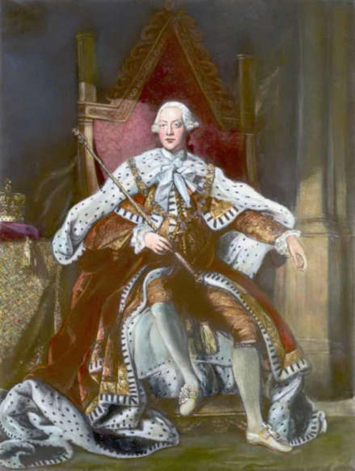 Vua George III của Anh. Lên ngôi vào năm 1760, Vua George III cũng nằm trong danh sách các quân vương của Anh trị vì lâu nhất. Ông đã từng nghiên cứu khoa học, nông nghiệp và thành lập Học viện Nghệ thuật Hoàng gia Anh. Vua George III đã trị vì trong 59 năm.