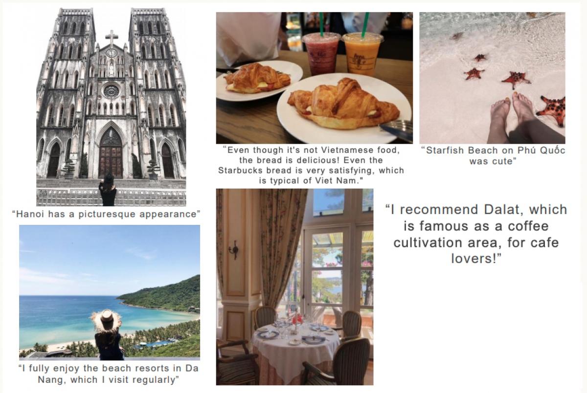 Phản hồi của du khách Nhật Bản về trải nghiệm du lịch tại Việt Nam. Nguồn: AJC