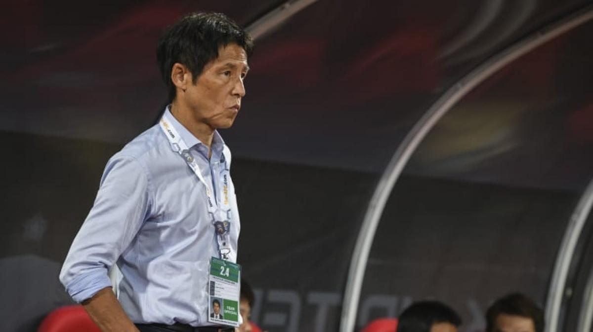 HLV Akira Nishino của ĐT Thái Lan. (Ảnh: AFC)