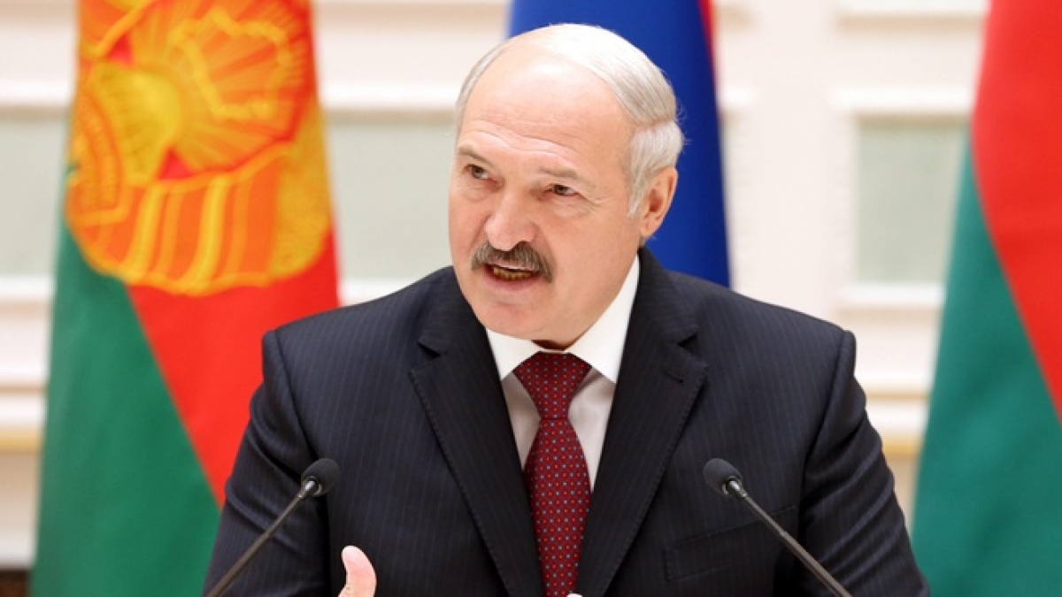 Tổng thống Belarus Alexander Lukashenko. Ảnh: Getty