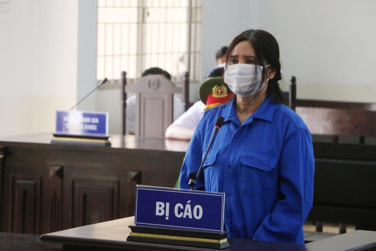Bị cáo Nguyễn Thị Kim Huy