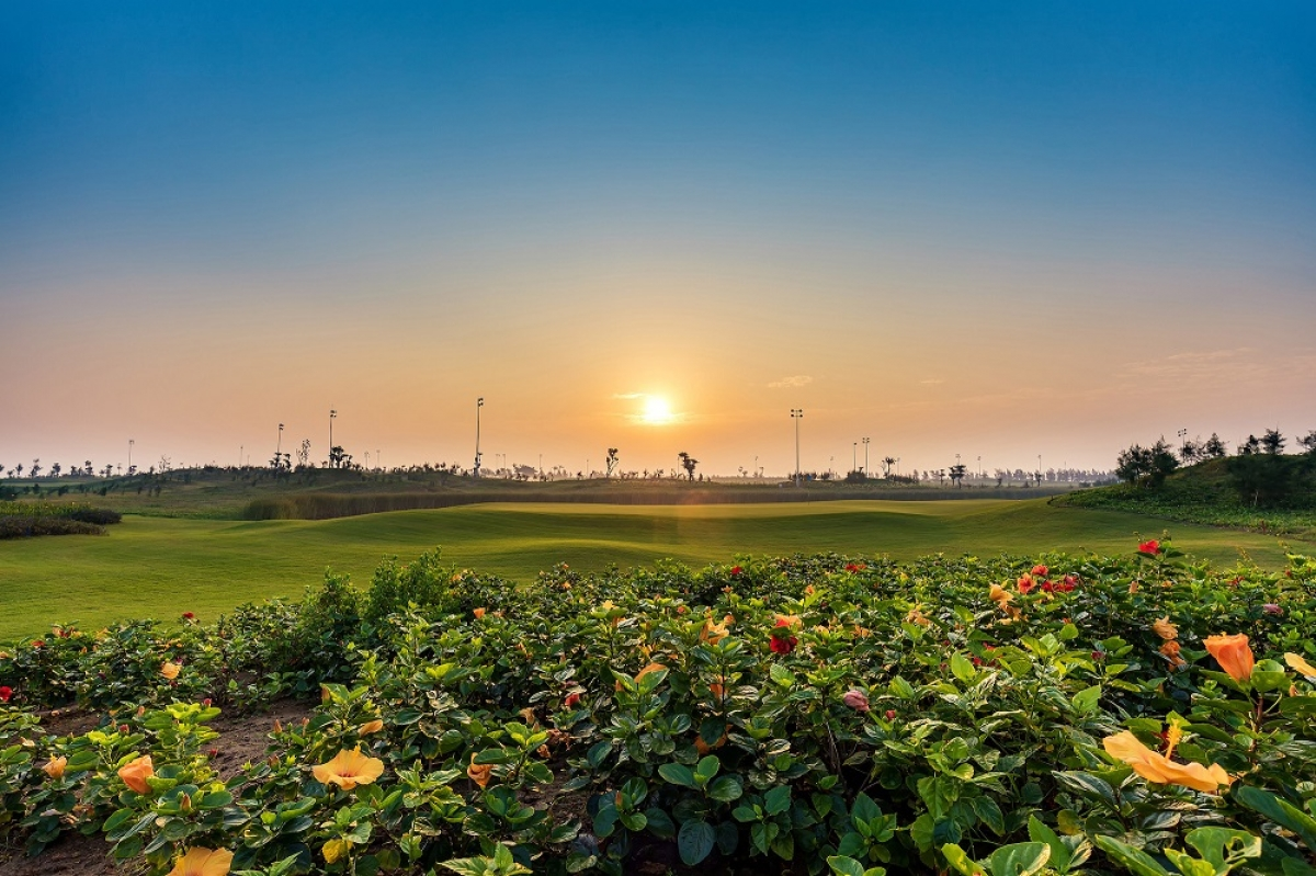 Sân golf tại quần thể nghỉ dưỡng FLC Sầm Sơn (Thanh Hoá)