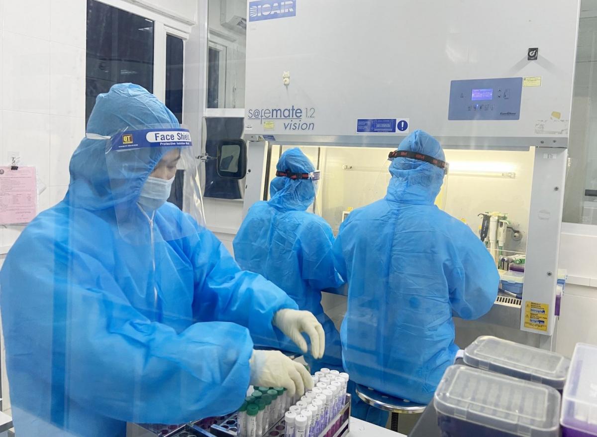 Kết quả xét nghiệm xác định thêm 5 ca mắc COVID-19 tại Hà Tĩnh. (Ảnh: CTV)
