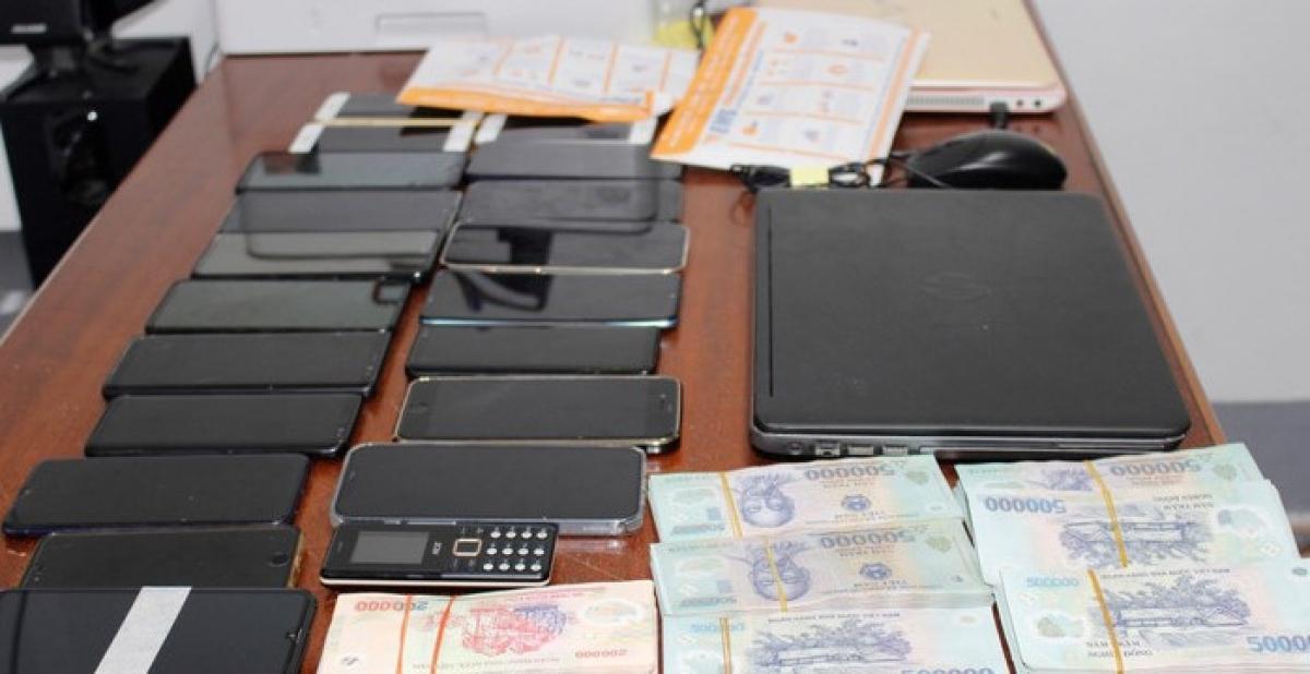 Tang vật của vụ án (ảnh: NTV).