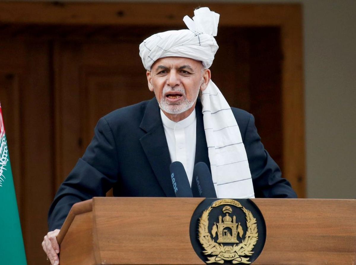 Tổng thống Afghanistan Ashraf Ghani. Ảnh: Reuters