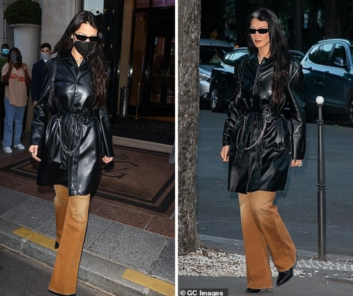 Được biết, Bella Hadid đến Paris để tham dự Tuần lễ thời trang nam.