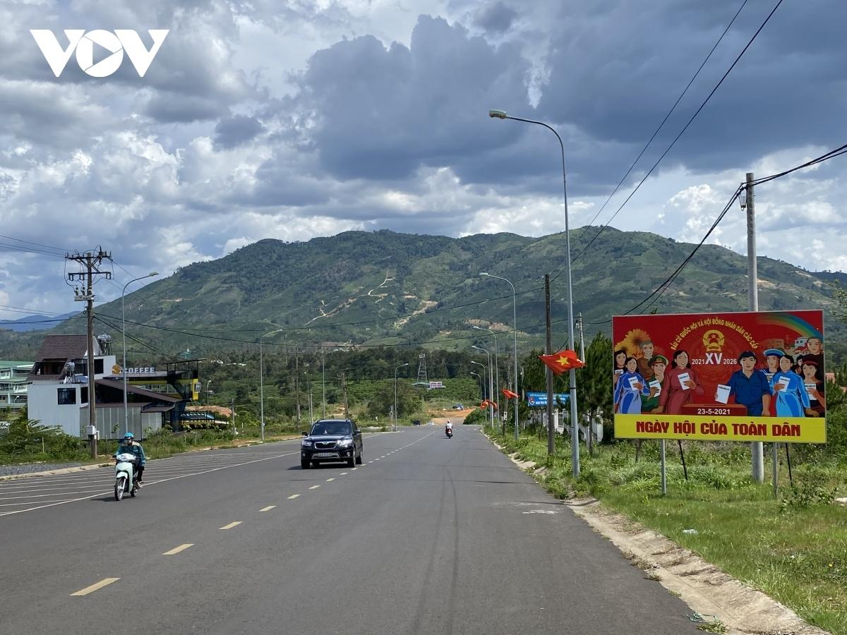 Thành phố Bảo Lộc, tỉnh Lâm Đồng (Ảnh: Tuấn Long)