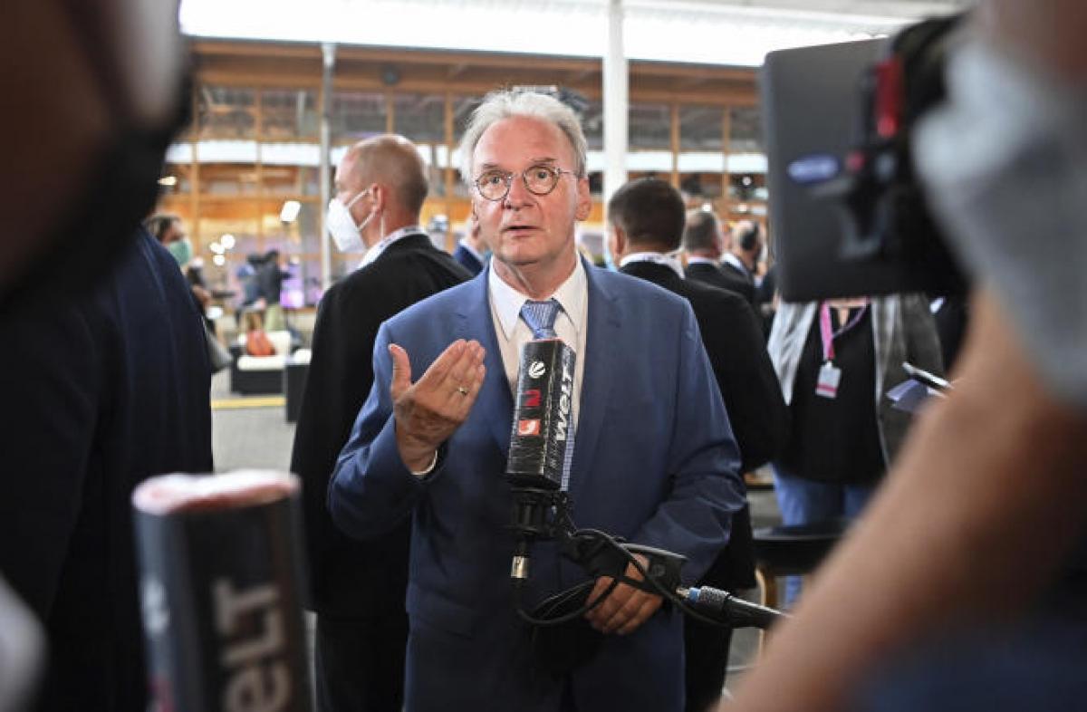 Thủ hiến bang Saxony Anhalt, ông Reiner Haseloff - thành viên đảng CDU. Ảnh: DW