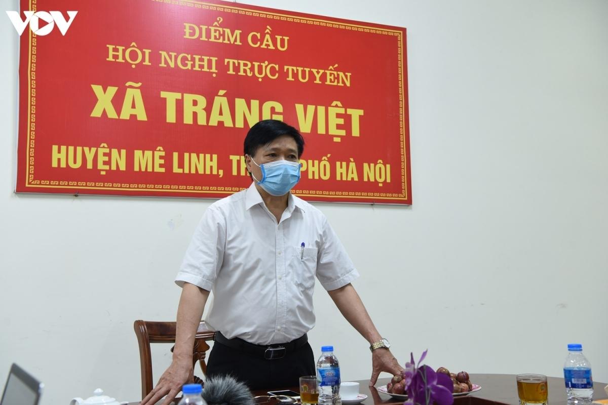 Ông Phùng Minh Chiến – Phó Chủ tịch HĐND huyện Mê Linh, Chủ tịch Ủy ban bầu cử huyện Mê Linh