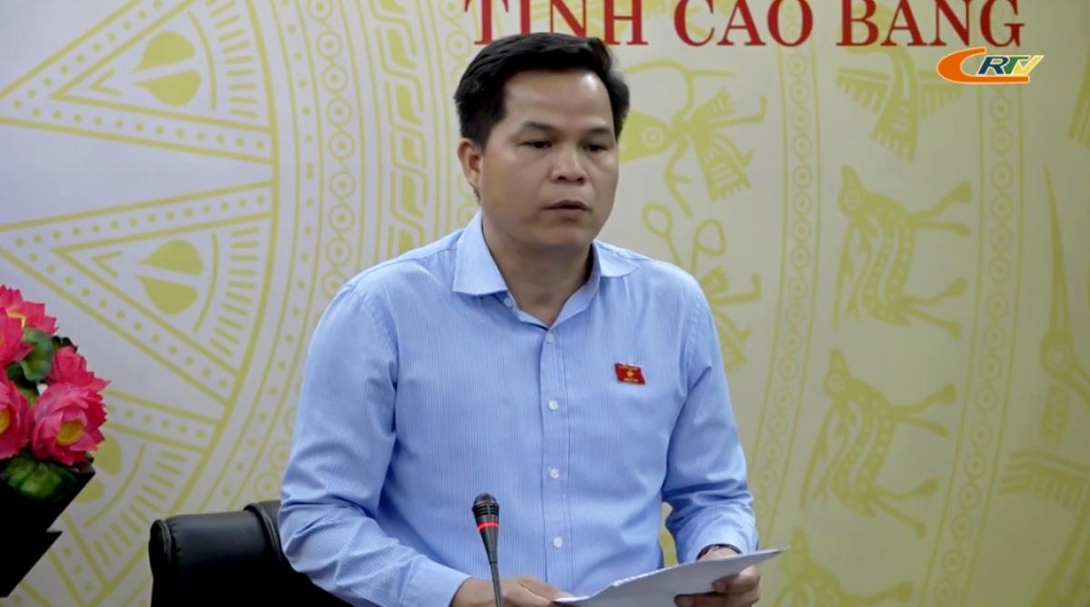 Đại biểu Quốc hội Bế Minh Đức