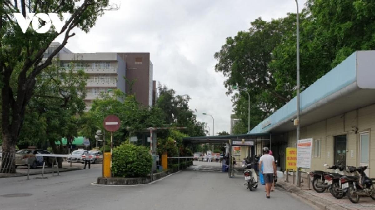 Từ ngày 20/6, Bệnh viện Đa khoa Đức Giang (Hà Nội) được phép mở cửa trở lại.