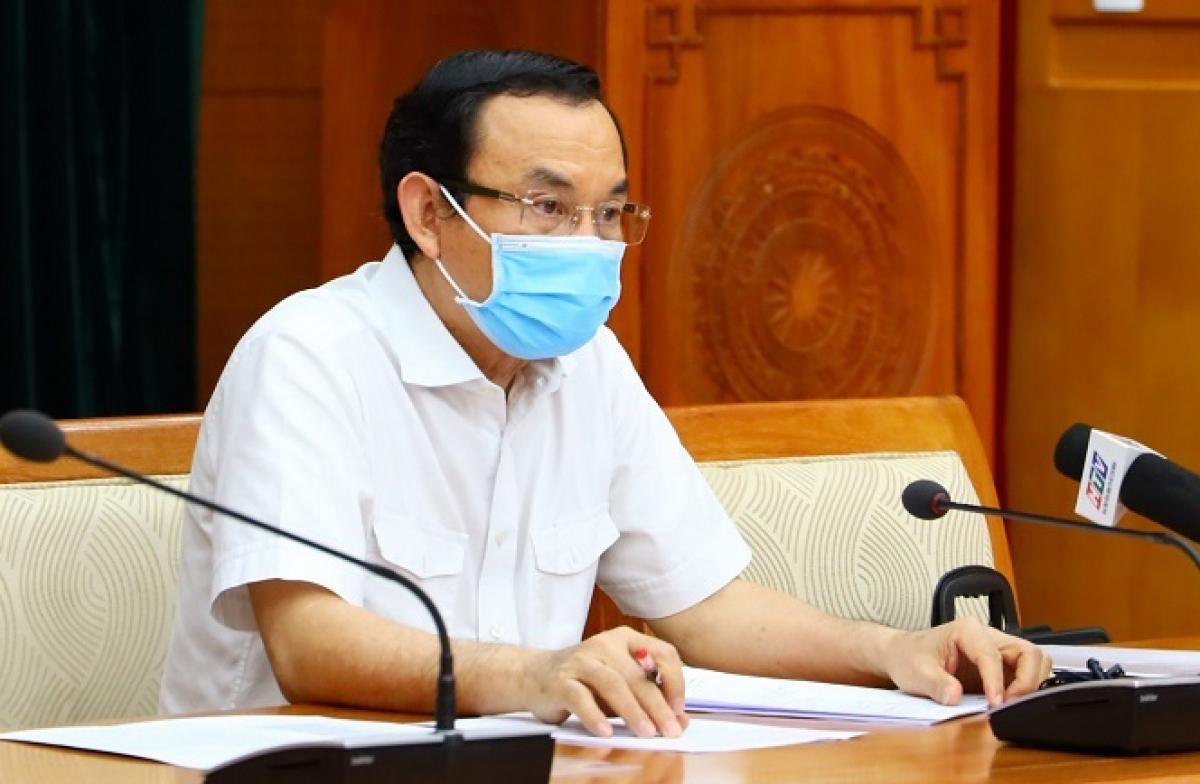 Bí thư Thành ủy TP.HCM Nguyễn Văn Nên.