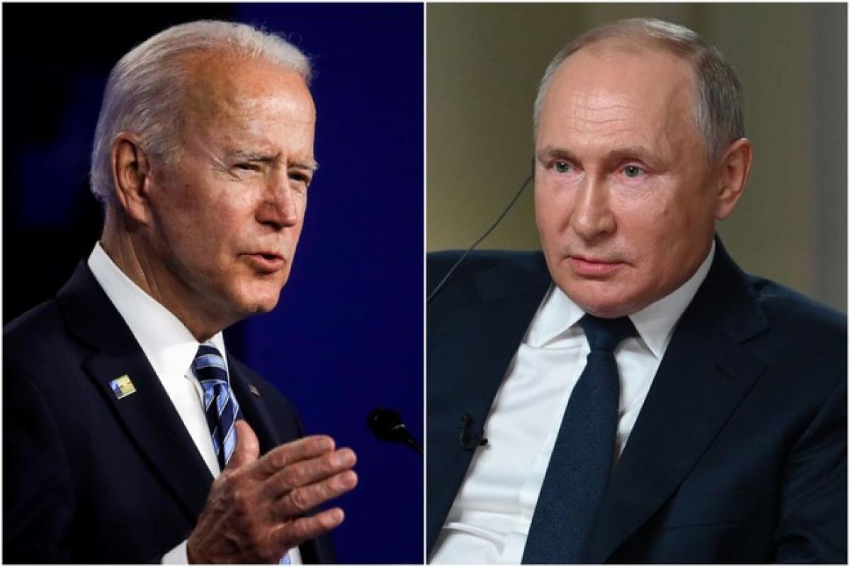 Tổng thống Mỹ Joe Biden và Tổng thống Nga Vladimir Putin (Ảnh: EPA).