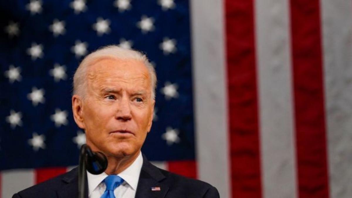 Tổng thống Mỹ Joe Biden. Ảnh: BBC.