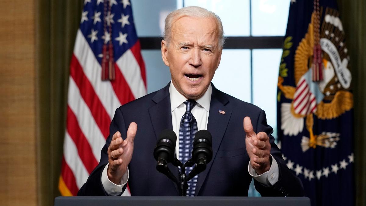 Tổng thống Mỹ Joe Biden. Ảnh: AP