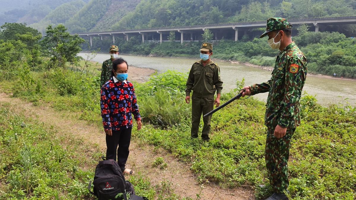 Ngăn chặn 1 vụ nhập cảnh trái phép trên tuyến biên giới Trịnh Tường,huyện Bát Xát, tỉnh Lào Cai