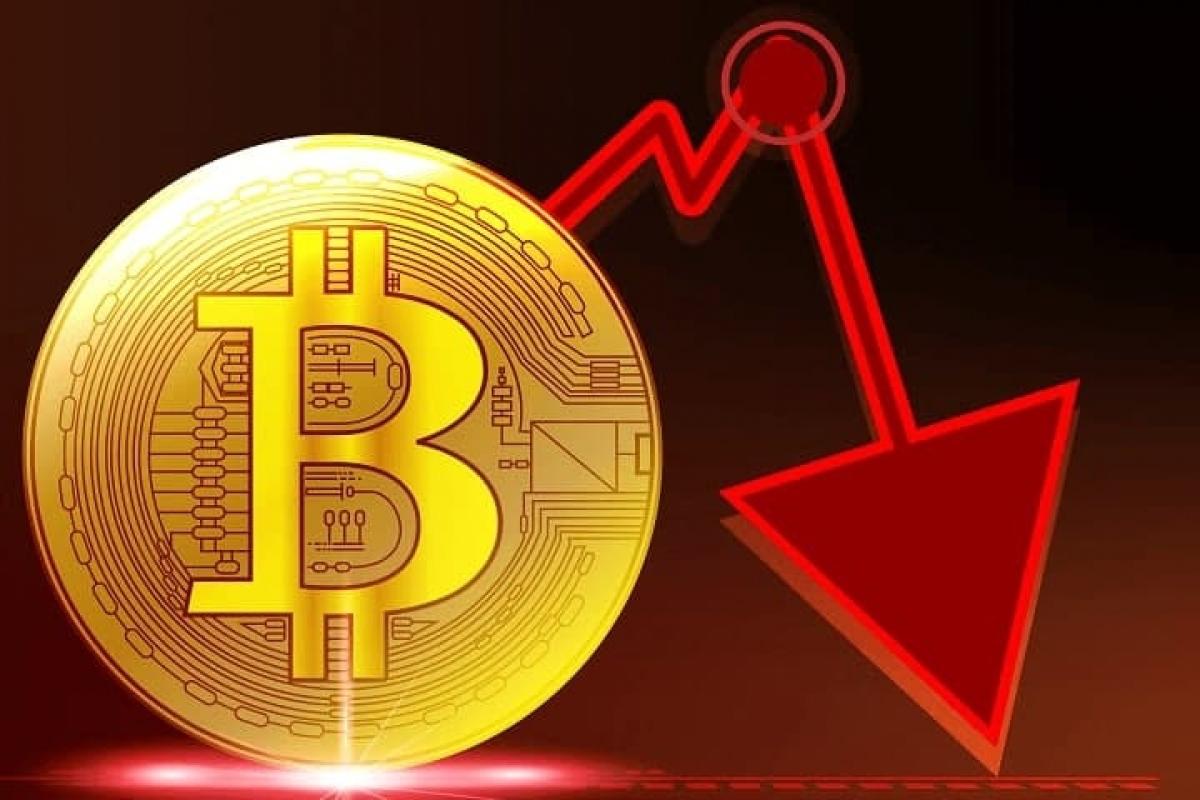 Giá Bitcoin vừa trải qua nhiều đợt lao dốc mạnh trong 2 tháng trở lại đây. (Ảnh minh họa: KT)