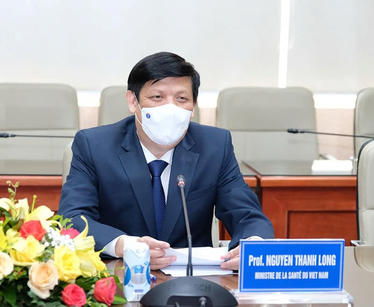 Bộ trưởng Bộ Y tế Nguyễn Thanh Long. (Ảnh: Trần Minh)