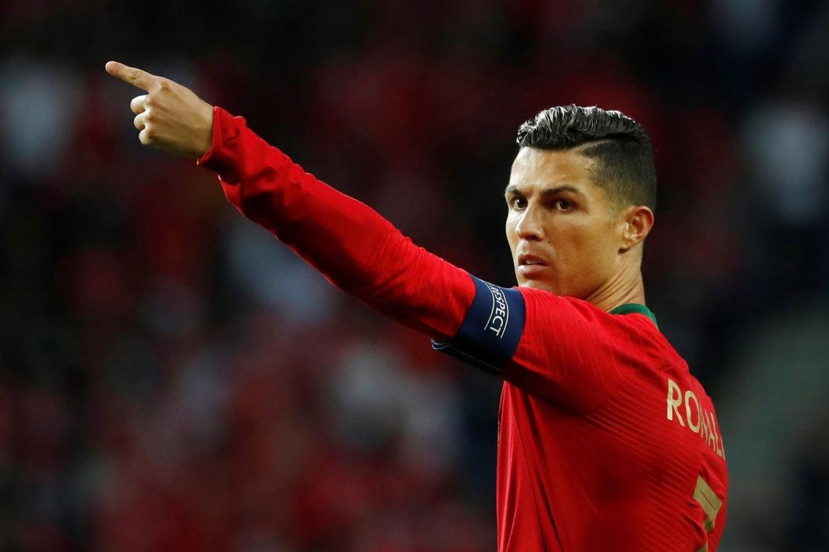 Cristiano Ronaldo là ngôi sao sáng nhất trong đội hình toàn sao của Bồ Đào Nha ở EURO 2021. (Ảnh: Getty)
