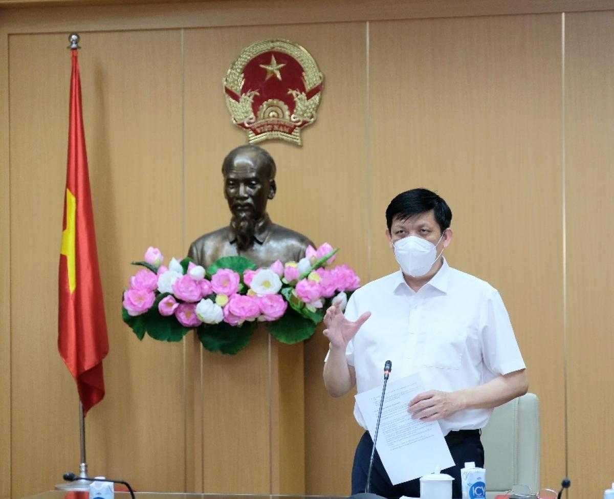 Bộ trưởng Nguyễn Thanh Long gửi tới các nhà báo lời tri ân sâu sắc vì những nỗ lực, đóng góp, đồng hành cùng ngành Y tế trong thời gian vừa qua.