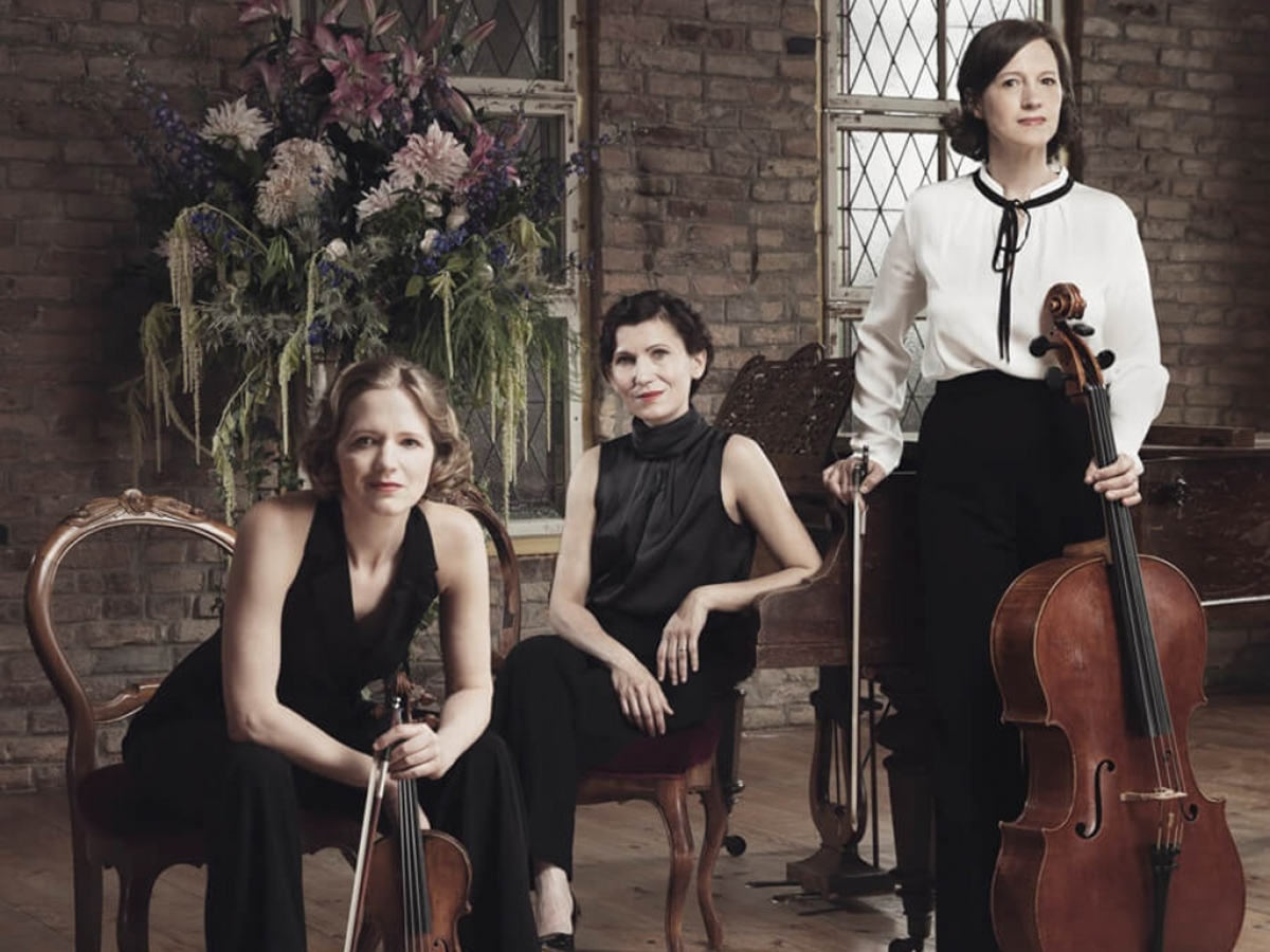 Renowned Boulanger Trio of Germany will join an online masterclass launched by theGoethe Institute.