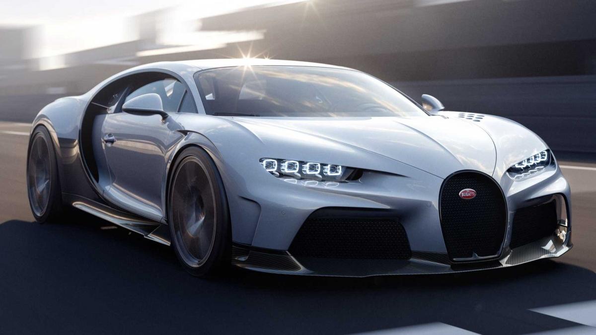 Chiếc hypercar mới của Bugatti được đặt tên Chiron Super Sport.