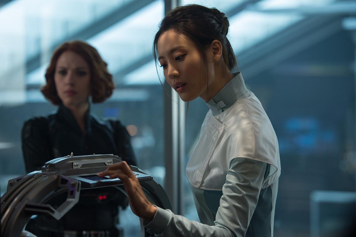 "Claudia Kim trong bom tấn ""Avengers:Age of Ultron""."