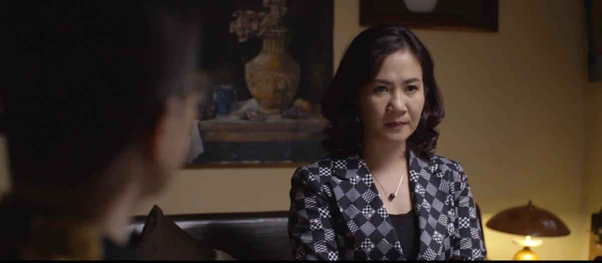 """Diễn viên Nguyệt Hằng trong """"Hãy nói lời yêu""""."""