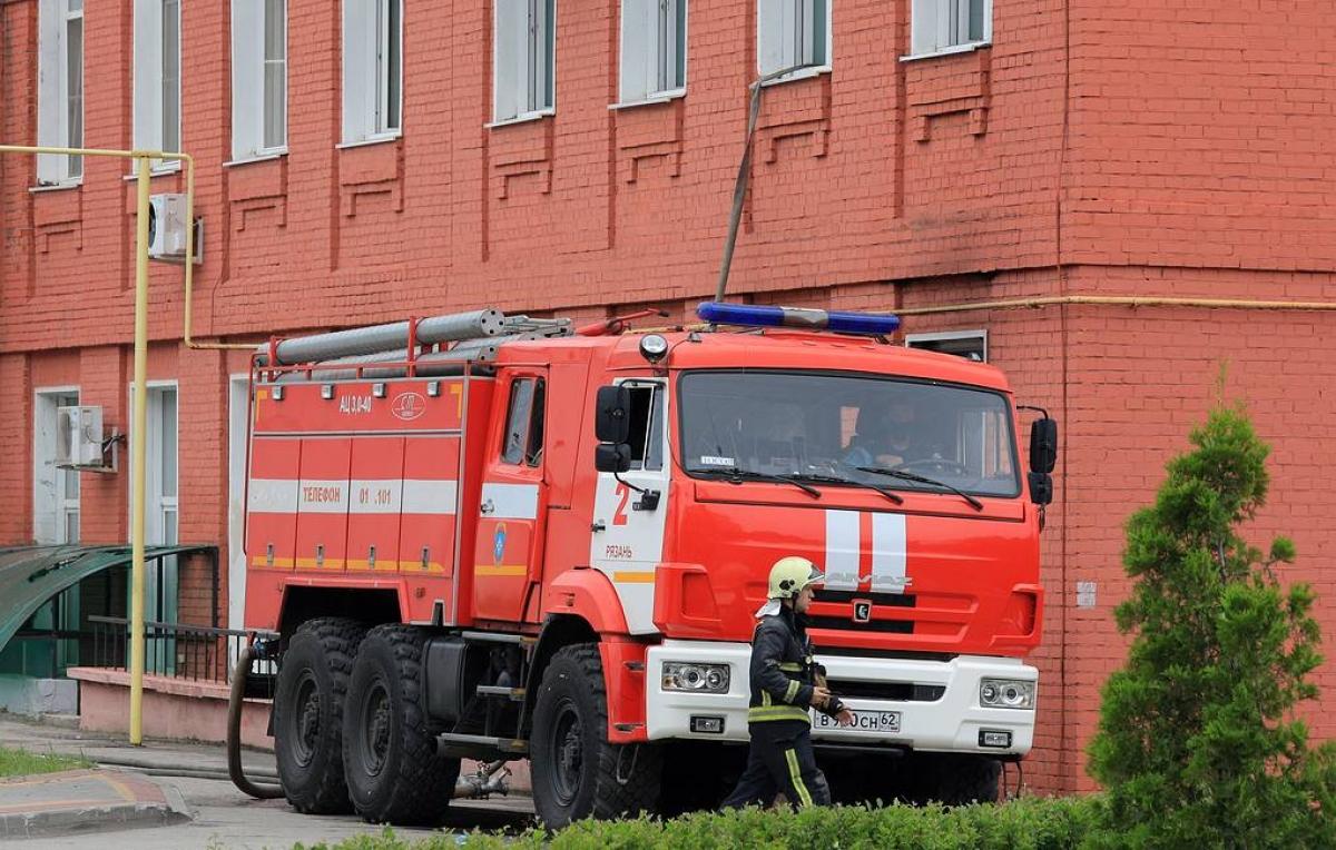 Cháy bệnh viện ở Nga khiến 11 người thương vong. Ảnh: Tass