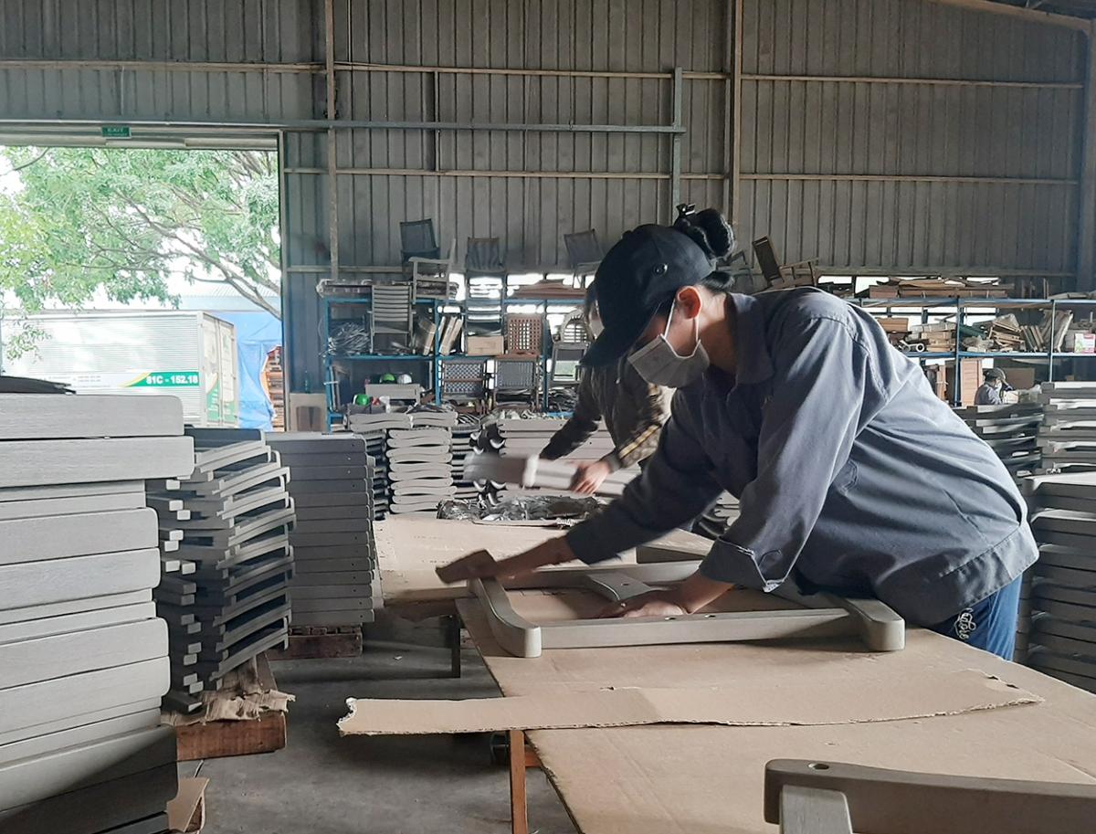 Kon Tum thực hiện nghiêm phòng dịch COVID-19 tại khu, cụm công nghiệp