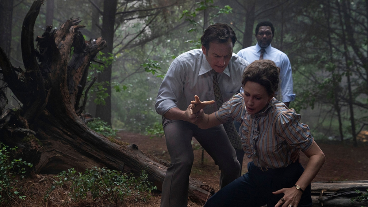 """Cảnh trong phim """"The Conjuring: The Devil Made Me Do It"""". Nguồn: Warner Bros"""