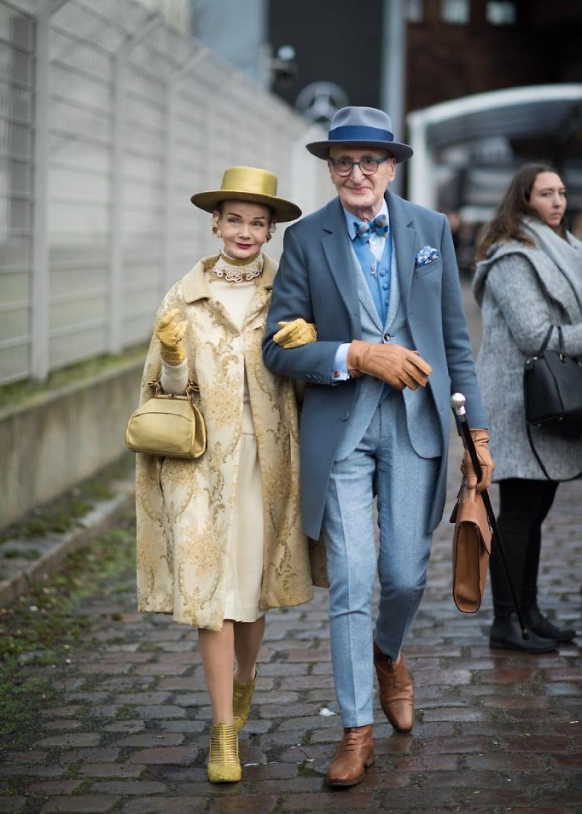 Đôi vợ chồng người ĐứcBritt Kanja và Gunther Krabbenhoft luôn là tâm điểm sự chú ý mỗi khi họ xuất hiện.